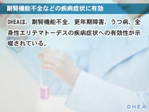 副腎機能不全などの疾病症状に有効