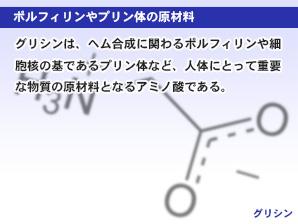 ポルフィリンやプリン体の原材料