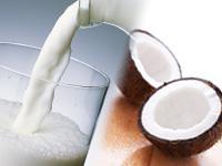 牛乳とココナッツ