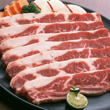 飽和脂肪酸が多い肉のイメージ