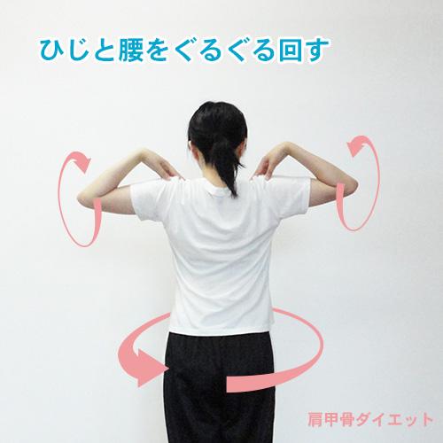 肩甲骨ダイエット基本動作