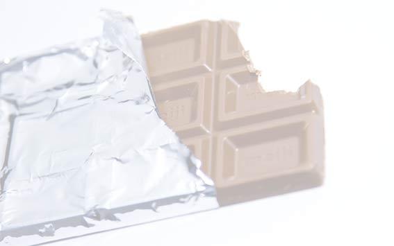 偽の空腹で食べてしまったチョコレート