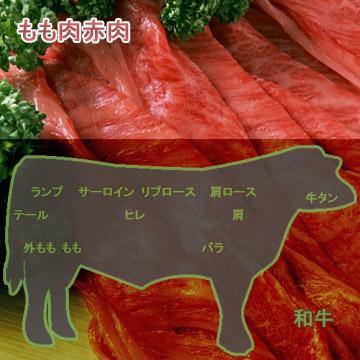 和牛もも肉赤肉