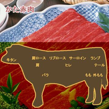 牛肉かた赤肉