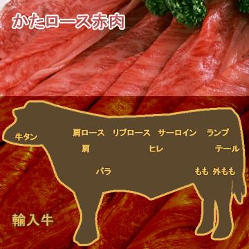 牛肉かたロース赤肉
