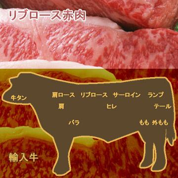 牛肉リブロース赤肉