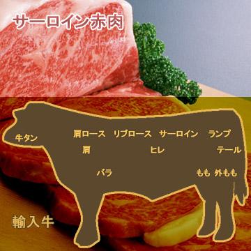 牛肉サーロイン赤肉