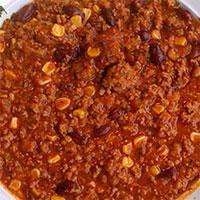 チリトマトビーンズスープ