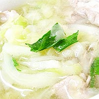 セロリのスープ