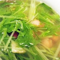 水菜のスープ
