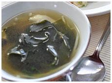 山と海のスープ