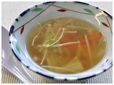 やさいスープ生姜風味