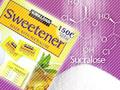 スクラロースは、砂糖の600倍も甘い人工甘味料
