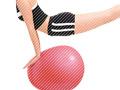 姿勢の歪みを解消しダイエットにもなるバランスボール