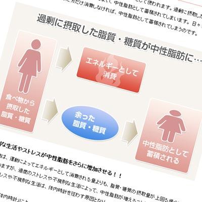 中性脂肪解説ページサムネイル画像