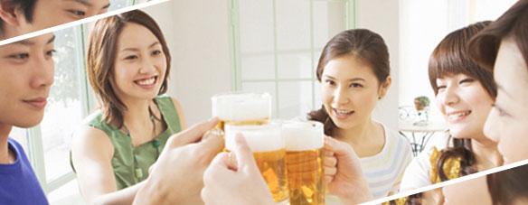 友人との飲み会/ホームパーティーの様子