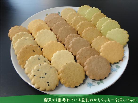 豆乳おからクッキーを試してみた