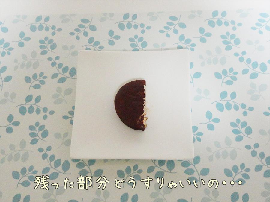 100キロカロリー分のチョコパイ