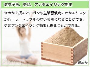 病気予防、美肌、アンチエイジング効果