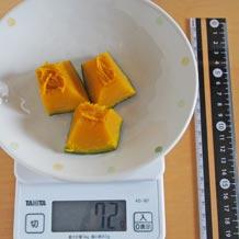 かぼちゃ 煮物 カロリー