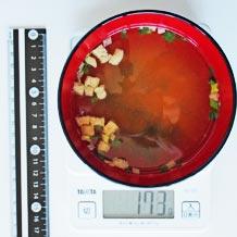 味噌汁 カロリー