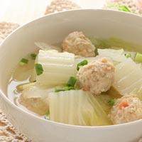 肉 団子 鳥 鶏団子のレシピ/作り方:白ごはん.com