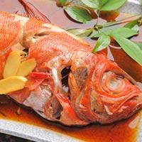 魚の 煮付け 赤
