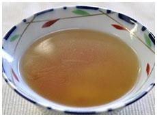 キャベツとニンジンのスープ