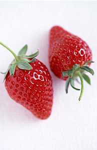 その一口にたくさんの栄養素が含まれているイチゴ